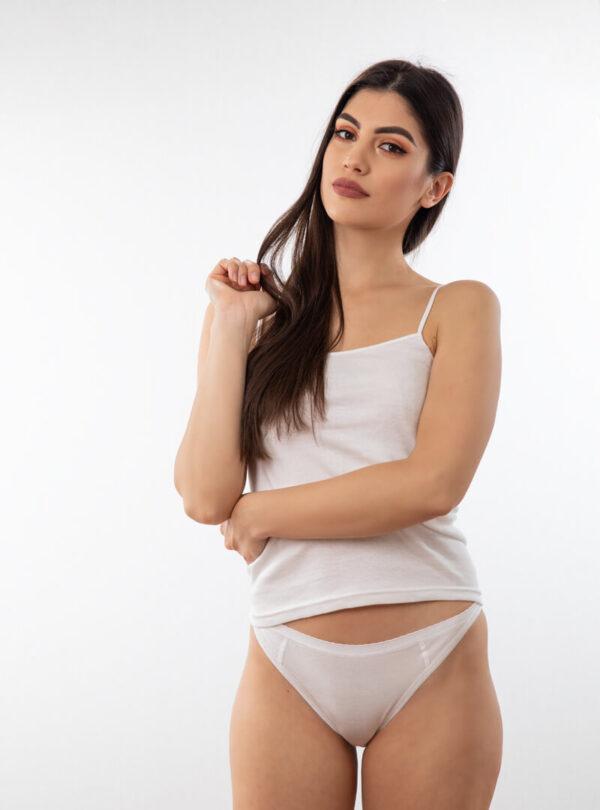 Bikini ženske gaćice bijele, ženski donji veš