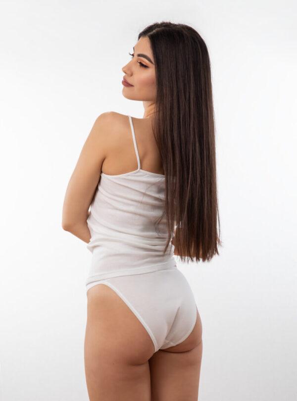 Ženske Bikini gaćice bijele, ženski donji veš