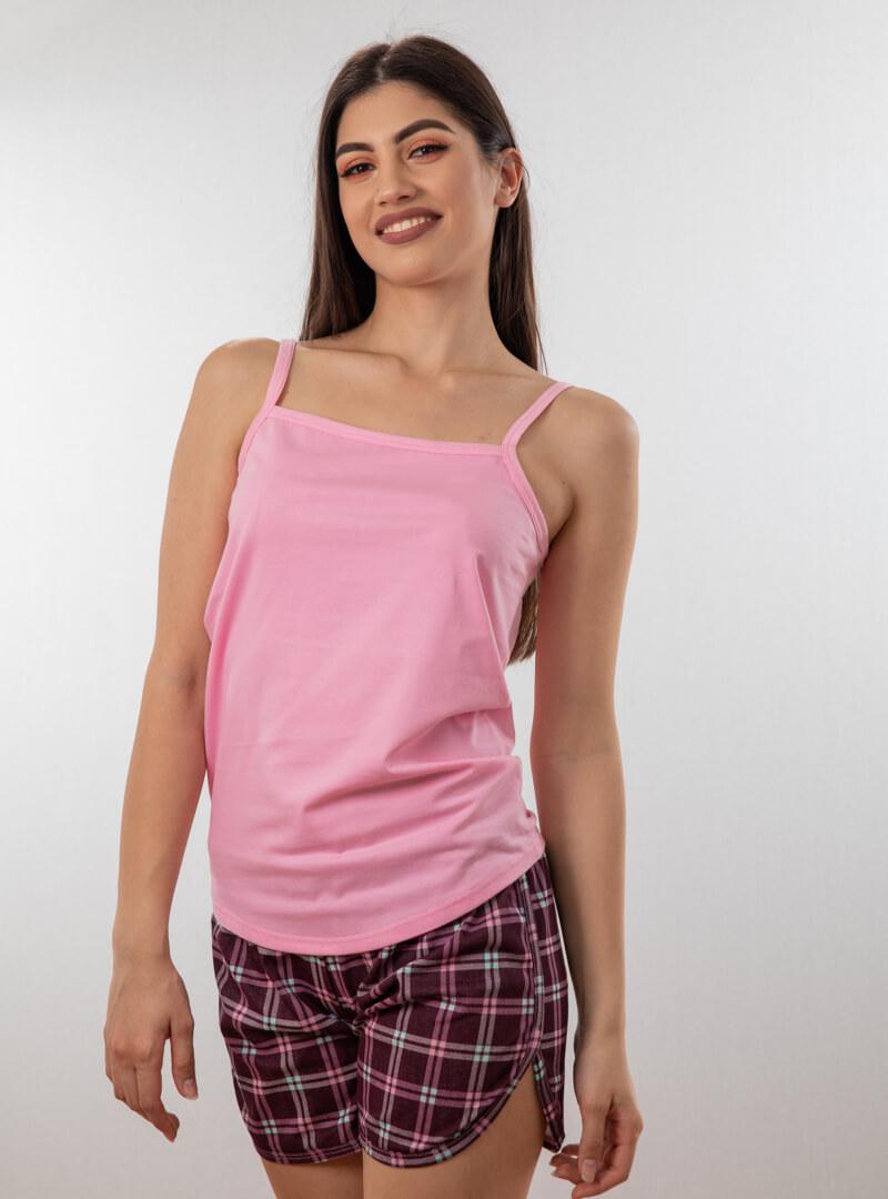 Ženski bebi dol IV dezen1, Bebi dol pidžama za žene od pamuka