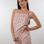 Ženski bebi dol IV dezen2, Bebi dol pidžama za žene od pamuka