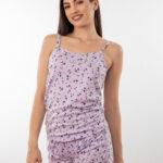 Ženski bebi dol IV dezen3, Bebi dol pidžama za žene od pamuka