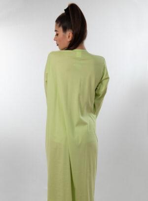 Spavaćica dugi rukav zelena, ženske spavaćice
