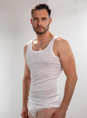 Muška atlet majica bijela