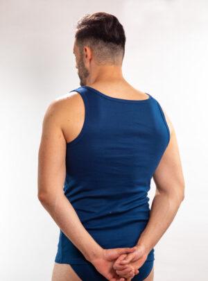 Muška atlet majica teget