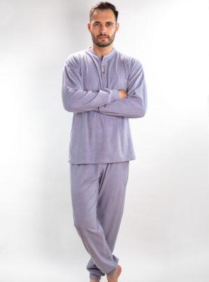 Muška frotir pidžama siva, Muske pidzame online prodaja