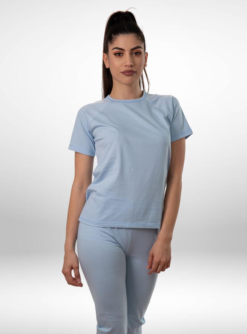 Ženska pidžama 3/4 nogavica pava, ženske pidžame