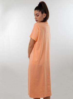 Ženska spavaćica kratkih rukava narandžasta, ženske spavaćice