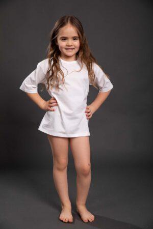 Majica za djevojčice kratak rukav