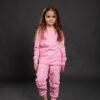Pamučna pidžama za djevojčice roza, dječije pidžame