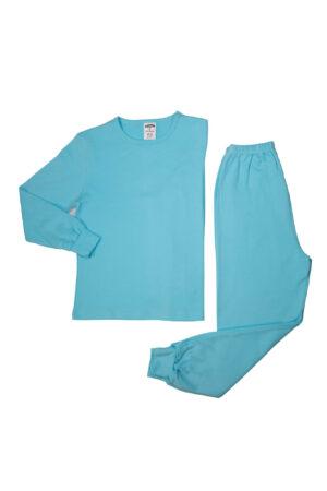 Pamučna pidžama za dječake svijetlo plava, dječije pidžame