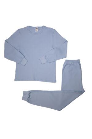 Pamučna pidžama za dječake siva, dječije pidžame
