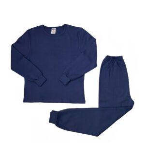 Pamučna pidžama za dječake teget, dječije pidžame