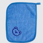 Peškir za bebe PLAVI